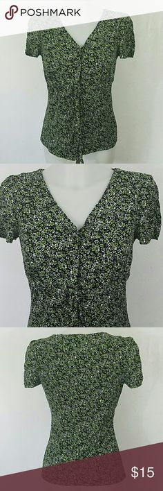 "Floral Print Blouse by Style & Co. Floral Print Blouse by Style & Co.  In great condition. Size medium petite.  Bust 34"" Length 24"" Style & Co Tops"