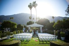 Viceroy Palm Springs ceremony