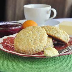Coconut Orange Tea Buns - Rock Recipes