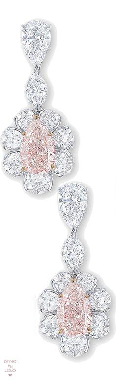 Graff Pink Diamond Earrings
