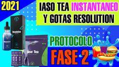 Como Tomar Las Gotas Resolution y Iaso Tea instantaneo Fase 2 (ACTUALIZ...