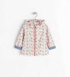 PRINTED JACKET WITH ZIP from Zara