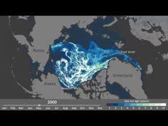 En 1 minuto de vídeo: El drástico deshielo del Ártico en los últimos 25 años | Diario Ecologia