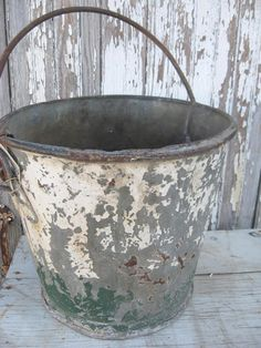 love old buckets!