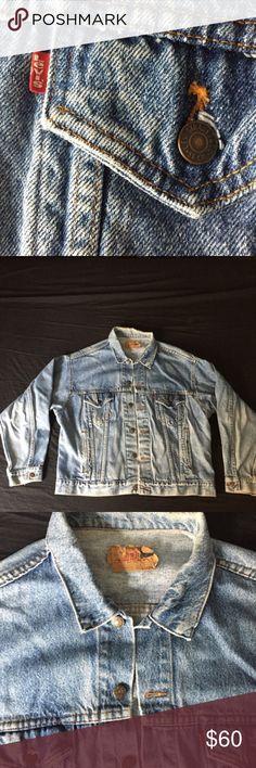 Levi's Denim Jacket XL Denim Jacket Mens XL Condition is extremely good! Levi's Jackets & Coats