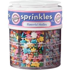 Flowerful Medley Sprinkles by Wilton