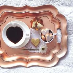 It's all about Hearts ♡  and coffee