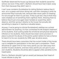 The House Cup part 2/2 // Severus snape, albus Dumbledore, Harry Potter, hp