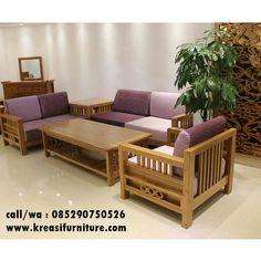 Kursi Tamu Sofa Minimalis Simpel Merupakan Kursi Tamu Sofa Dengan Desain  Minimalis Modern Berbahan Kayu Jati