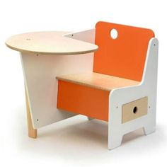 Cameron Contemporary Wooden Kids Home Furniture Design, Doodle Drawer Desk by Roberto Gil - New York's Home, Design and Gifts Market | New York Markt