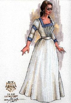 La Bohem (Mimi). OperaDelaware. Costume design by Gregory A. Poplyk.