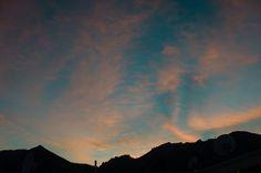 #Boulder sunset.