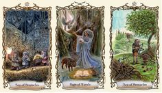 Trải Bài Ba Lá cùng Fantastical Creatures Tarot: Tình Cảm Người Ấy Dành Cho Mình   Tarot Huyền Bí - Dạy Xem Bói Lá Bài Tarot, Runes, Lenormand và Oracle Decks
