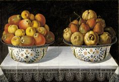 Hiepes, Tomas (1600 - 1674) - Still Life With Bowls Of Fruit (1642)