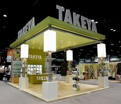 Custom Built 20 x 30 exhibit for @TakeyaUSA designed and fabricated by Blazer Exhibits  Events