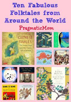 Ten Fabulous Folktales for Kids from Around the World | Pragmatic Mom