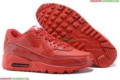 Kopen Nike Air Max 90 'Croc Snake' Dames Schoenen Rood Online