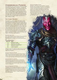 Homebrew material for 5e edition Dungeons and Dragons made by the community. Dungeons And Dragons Classes, Dungeons And Dragons Characters, Dungeons And Dragons Homebrew, Dnd Characters, Warlock Dnd, Science Fiction, Dnd Dragons, Dnd Races, Dnd Classes