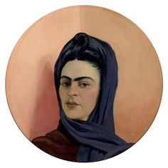 carlas_gomila_frida_oil_wood_original_art.jpg (800×800)