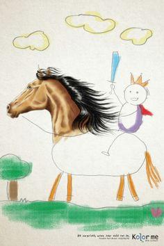 Kolor Me Art School: Horse