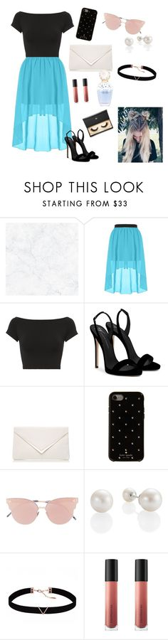 """""""Dressy"""" by wendyfashion on Polyvore featuring Helmut Lang, Giuseppe Zanotti, Kate Spade, So.Ya, Astrid & Miyu, Marc Jacobs, Bare Escentuals and Lash Star Beauty"""