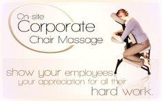 On-Site Corporate Chair Massage, massage deals ; massage for headache relief ; massage for stiff neck ; on-site corporate chair massage Good Massage, Massage Room, Spa Massage, Massage Chair, Massage Therapy, Massage Images, Massage Pictures, Massage Marketing, Mobile Massage