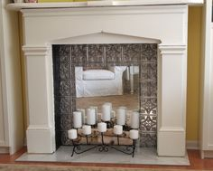 Fake Fireplace Ideas Images