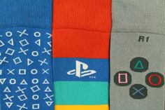 With these Official Sony PlayStation socks you can represent your console with the best of them - they're the PlayStation gaming products you can wear on your feet! Just don't try to get them to work with your PS4, it's not compatible with cotton.