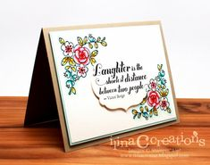 Laughter by ilinacrouse - Cards and Paper Crafts at Splitcoaststampers