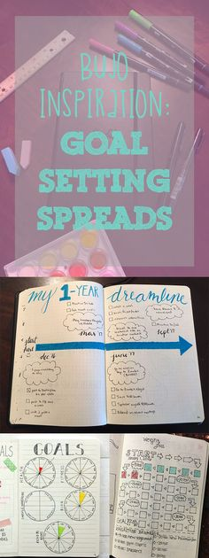 goal setting bullet journal