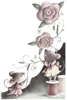 Jennifer A. Bell - Mouse sewing