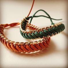 Doppia catena dorata con nabuk #bracelet #moda #trend #fashion #trending #handmade #bracciale #taranto #italia #madeinitaly #handcraft #catena #chains #archijewels #jewels