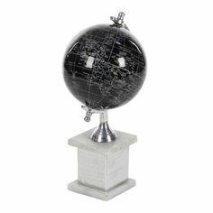 Cole Grey Globe Colour Gold White Size 14 H X 7 W X 7 D