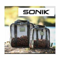 2-x-Sonik-SKS-Carp-Fishing-Air-Dry-Boilie-Bags-1-x-Medium-3kg-1-x-Large-6kg