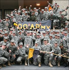 Go Army! Sink Navy! 107th Army Navy Game Army Navy Football, Army & Navy, Football Team, Military Veterans, Veterans Day, American College Football, Football Rivalries, United States Military Academy, Navy Midshipmen