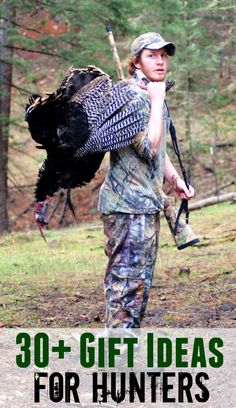 Gift Ideas for Men Who Love to Hunt, Camp, or Hike: 30 Ideas for the Outdoor Man or Hunter in your Family Father's Day gifts for a dad who loves hunting Boyfriend Anniversary Gifts, Birthday Gifts For Boyfriend, Boyfriend Gifts, Boyfriend Stuff, 30 Gifts, Gifts For Dad, Great Gifts, Funny Gifts, Hunting Gifts