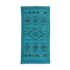 Moroccan Rug, 8'3'' x 4'6'' - Art Deco Hollywood Regency Modern... ($945) ❤ liked on Polyvore featuring home and rugs