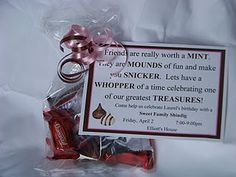 Chocolate Candy Invite