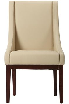 Lenox Leather Side Chair from Home Decorators