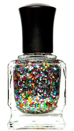 rainbow glitter polish. need this, obviously.
