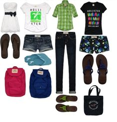 Hollister Outfits luv all of them!!!<3