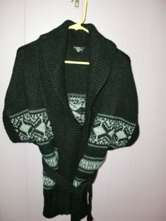 Hot Delicious Southwestern Sweater Coat Wrap Cardigan Women's Small Medium | eBay