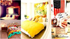 100 Inexpensive and Insanely Smart DIY Headboard Ideas for Your Bedroom Design - Headboards are not a mandatory item in the bedroom yet their impact in the bedroom is massive. Through these DIY headboard ideas you can make. Diy Projects For Your Bedroom, Easy Diy Projects, Easy Crafts, Wood Projects, Headboards For Beds, Headboard Ideas, Cheap Headboards, Full Headboard, Bedroom Images