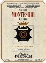 2006 Marchesi de' Frescobaldi Chianti Rufina Castello di Nipozzano Riserva Montesodi