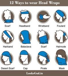 ways to wear headwraps