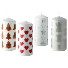 Visit IKEA online to browse our range of candles, and find plenty of home furnishing ideas and inspiration. Ikea Christmas, Christmas Blocks, Christmas Candles, Christmas Time, Christmas Stuff, Christmas Table Decorations, Holiday Decor, Mistletoe And Wine, Merry Christmas Ya Filthy Animal