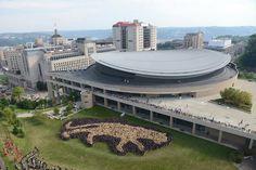 University of Pittsburgh Petersen Events Center (Photo by Michael Henninger/ Pittsburgh Post-Gazette)