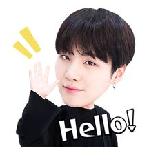 La banda coreana de hip-hop del momento, BTS, ya tiene sus stickers en LINE. ¡Los de BTS llenarán del ritmo tus chats!