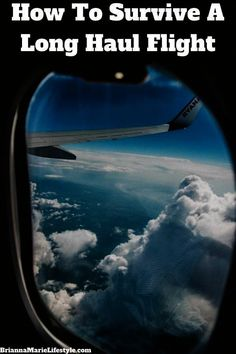 How To Survive A Long Haul Flight - Brianna Marie Lifestyle