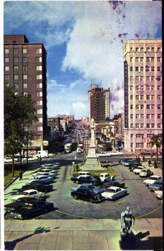 Downtown Columbia early 1960's